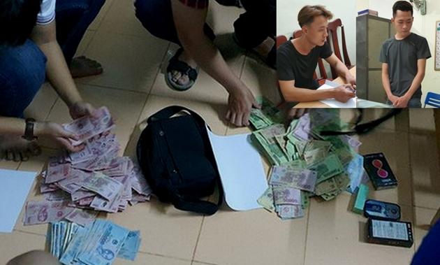 Thiếu nợ, hai đối tượng ở Quảng Ngãi mang dao đi cướp ngân hàng
