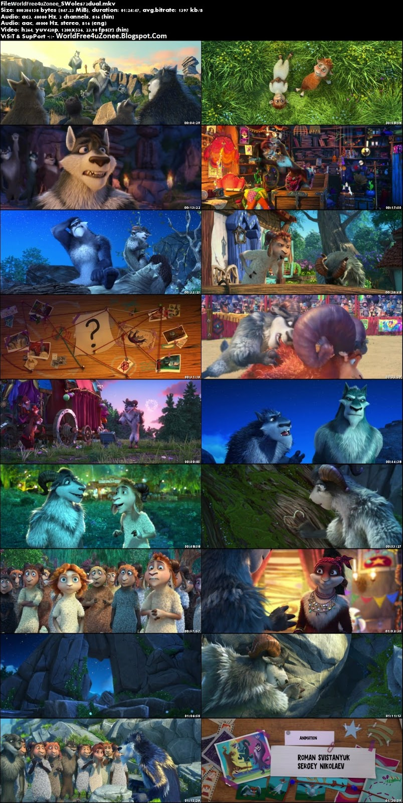 Sheep & Wolves (2016) Dual Audio BRRip 720p 800MB Full Movie Free Download And Watch Online Latest Hollywood Cartoon Movies Dual Audio Free At WorldFree4uZonee.Blogspot.Com