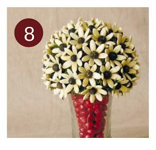 Cara Membuat Bunga Dari Biji-bijian Untuk Hiasan Rumah