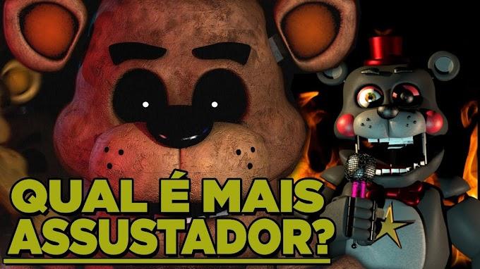 Os 20 animatronics mais perigosos de fnaf