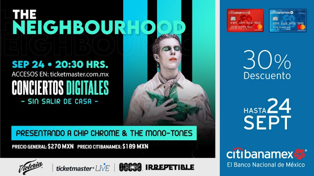 The Neighbourhood ofrecerá un concierto Irrepetible vía streaming en Ticketmaster