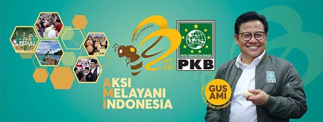 Makin Gacor! Elektabilitas PKB Masuk 3 Besar Hasil Survei Puspoll Indonesia