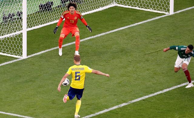 Hasil Pertandingan Meksiko vs Swedia - Piala Dunia 2018