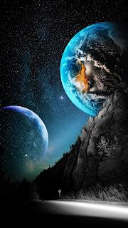 Starry Sky Mobile HD Wallpaper