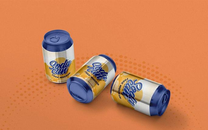 360 Soda Can Small Mockup