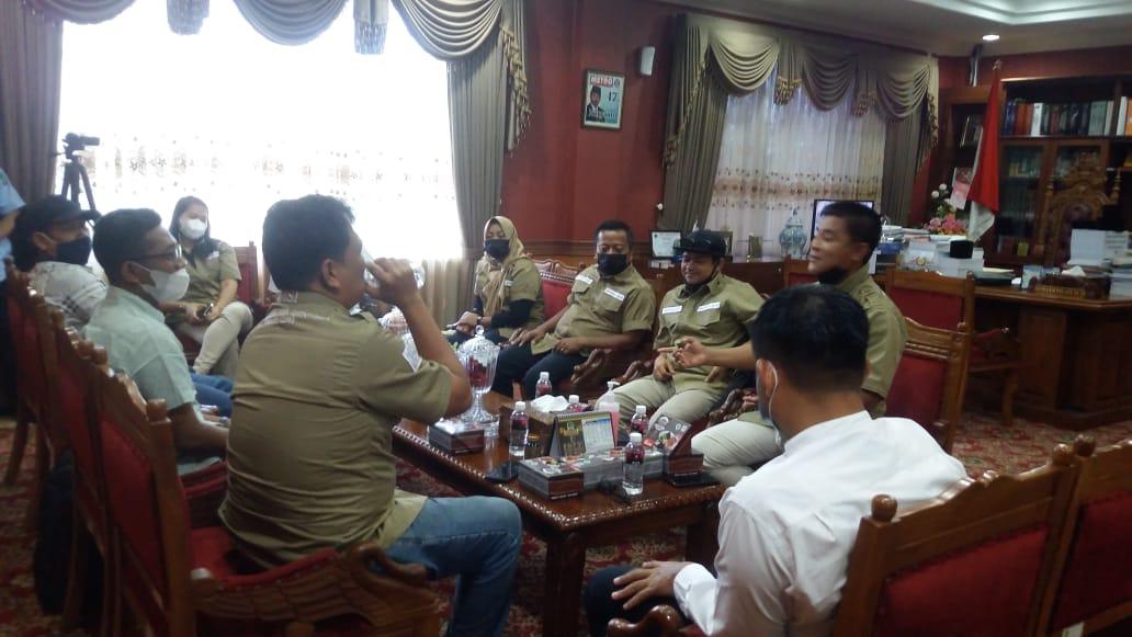 Nuryanto Terima Audensi Pengurus SMSI Kota Batam