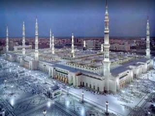 Al-Masjid an-Nabawī Medina in Saudi Arabia