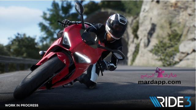تحميل لعبة Ride 3 لعبة سباق الموتوسيكلات للكمبيوتر برابط مباشر ميديا فاير