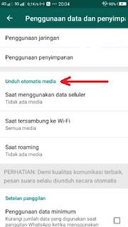 Cara Agar Foto/Gambar Dari Whatsapp Tidak Otomatis Tersimpan Di Galeri Ponsel