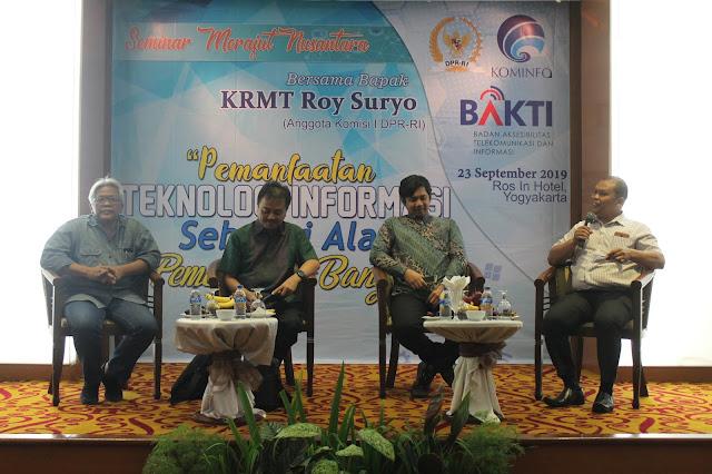 Roy  Suryo: Generasi Muda Harus Tetap Kritis Tapi Jaga Kesantunan di Sosmed
