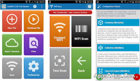 Inventory & Barcode scanner & WIFI scanner Paid APK v6.70 [Latest]