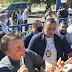 Presidente Jair Bolsonaro desembarca em Barreiras sob forte esquema de segurança nesta sexta(11)