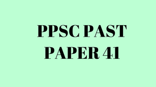 ppsc past papers service center official PLRA