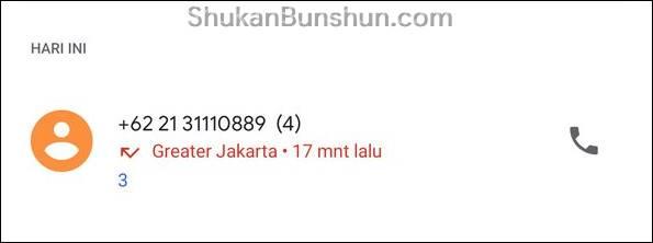 Nomor Siapakah 622131110889 Kode Area Apa Penipuan Telepon