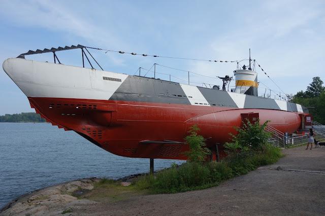Suomenlinnan sukellusvene