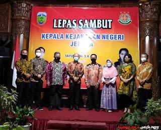 Dandim 0719/Jepara Hadiri Lepas Sambut Kajari Kabupaten Jepara
