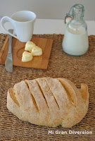 Pan con suero de mantequilla