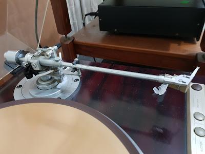 Micro Seiki SX-555 FVW turntable with original tonearm (Used) 20180305_200136