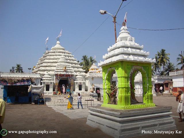Main Entranace of Baladevjew Temple in Tulasikshetra, Kendrapara, Odisha