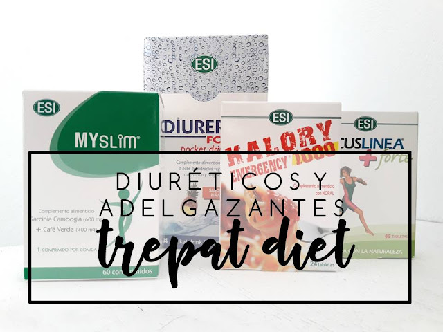 DUIRÉTICOS Y ADELGAZANTES DE TREPAT DIET