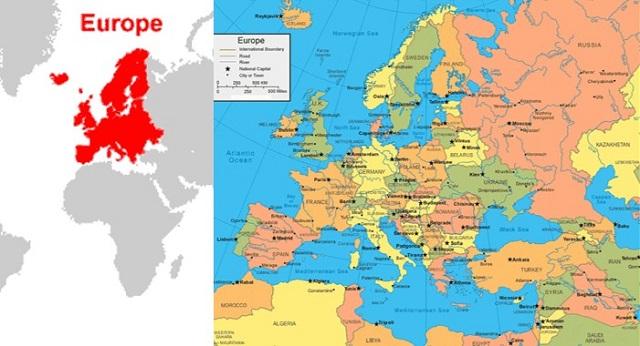 negara di benua eropa
