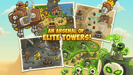 Download Kingdom Rush Frontiers IPA For iOS Free For iPhone And iPad With A Direct Link.