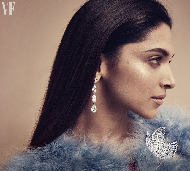 Deepika Padukone Photoshoot 'Vanity Fair' UK August 2017 issue