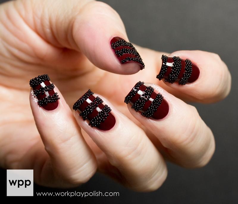 NYX Peals Roberto Cavali Nail Art