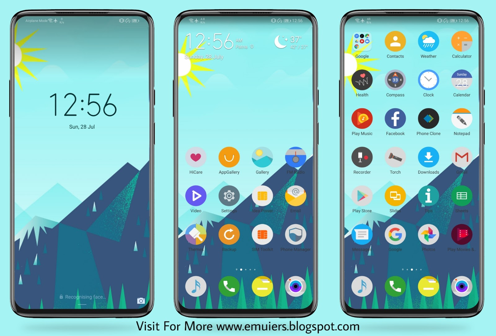 Pretty Landscape EMUI Theme Download For Huawei & Honor Phones