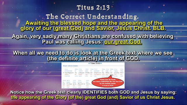 Titus 2:13 T