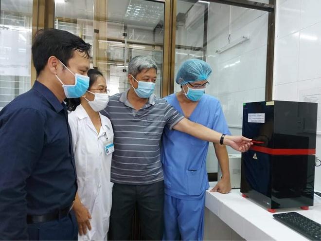 Bệnh viện C Đà Nẵng bắt đầu xét nghiệm khẳng định Covid-19