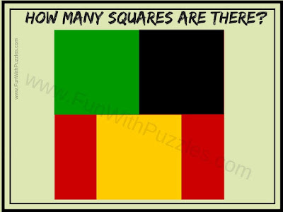 How many Squares do you see in this Picture Puzzle?