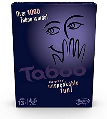 Taboo - Party game, taboo board game, taboo game, taboo,taboo board game uk, game,
