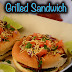 Street style grilled veggie sandwich