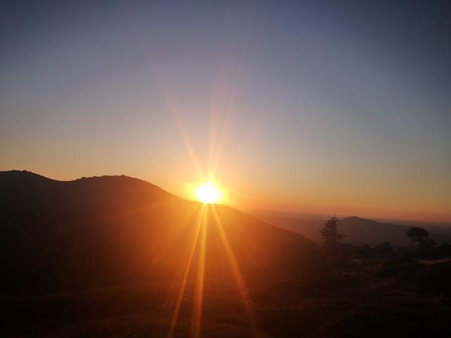 Puesta de sol y Cuerda de San Rafael con - escapadillas.com