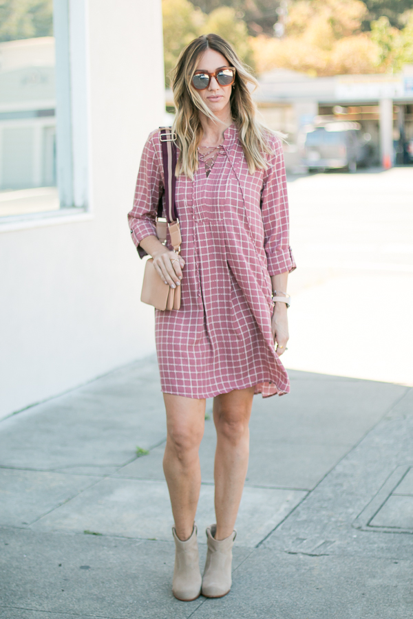 the perfect fall dress style