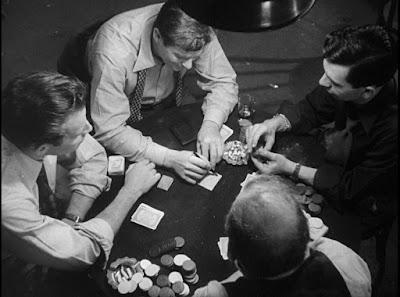Dark City - Charlton Heston, Jack Webb, Don DeFore, Ed Begley - Cards