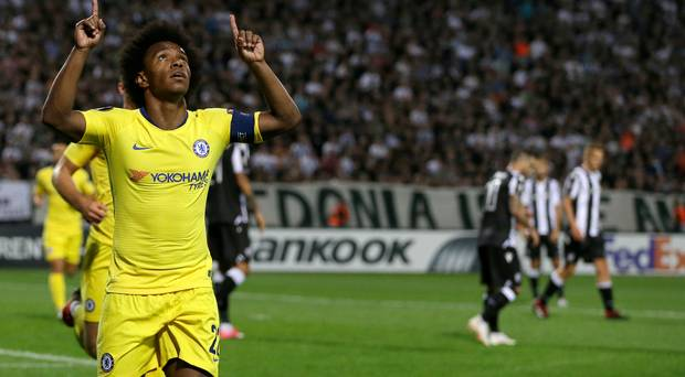 PAOK Thessaloniki 0-1 Chelsea: Fantasising about Ross Barkley, Bruce Buck and Garlic Butter.