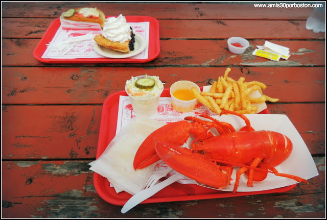 Lobster Shacks en la Costa Sur de Maine: The Lobster Shack