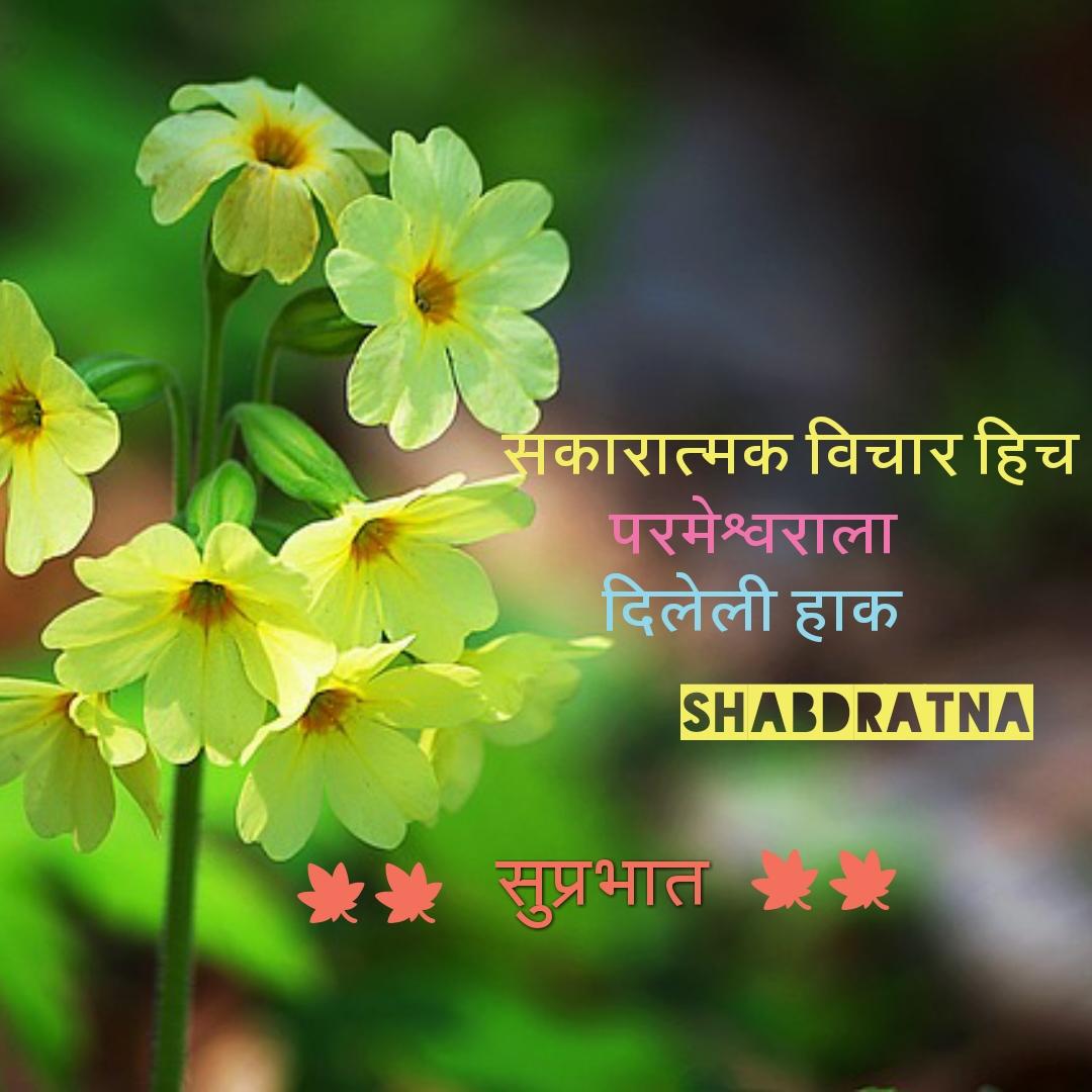 Good Morning Images With Marathi Quotes Marathi Quote Good Morning