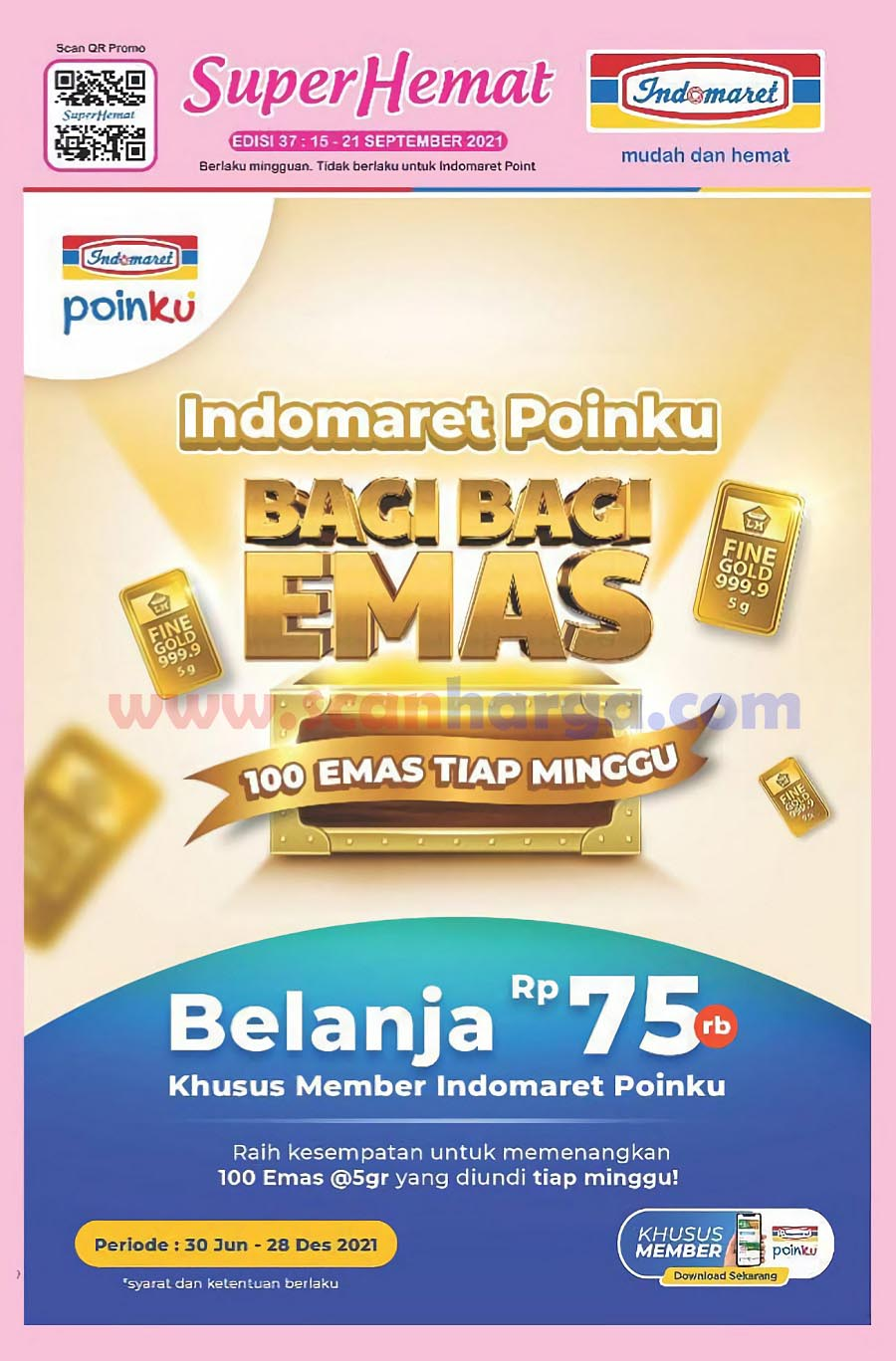 Katalog Indomaret Promo Terbaru 15 - 21 September 2021
