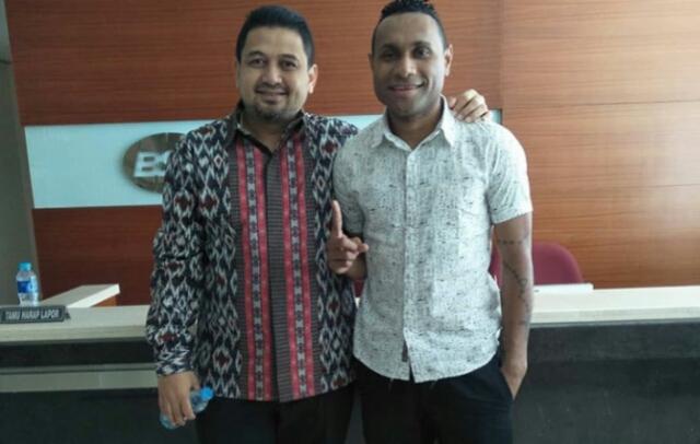 Titus Bonai Resmi Hengkang dari PSM Makassar
