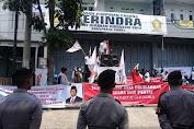 Kantor DPC Gerindra Garut, Diduduki Ratusan Massa