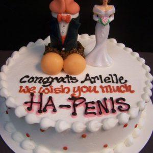 Horny Girls' Naughty Party Cake