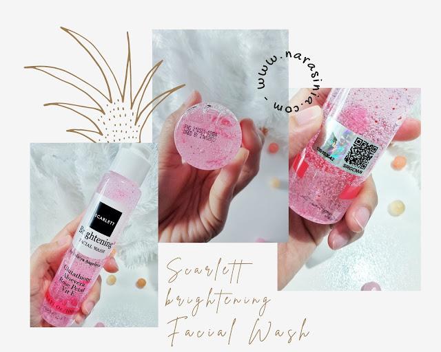 Scarlett Brightening Facial Wash