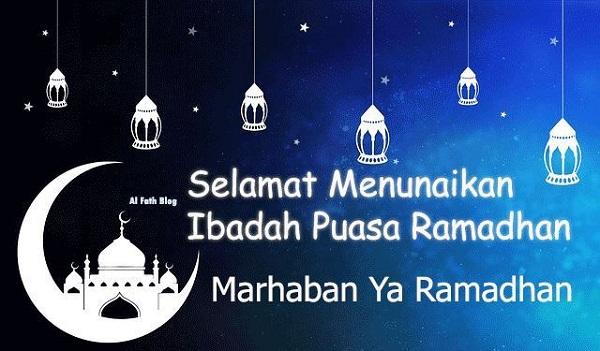 Kata Ucapan Selamat Berpuasa di Bulan Ramadhan 2019