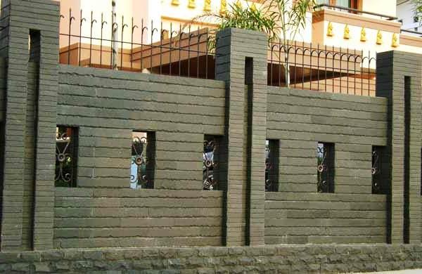 Contoh Pagar Tembok Rumah Yang Tinggi