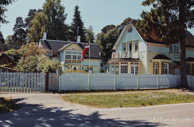 Деревянные дома Юрмалы