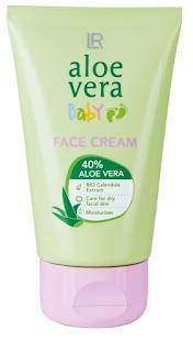 Aloe Vera Baby krem do twarzy dla dzieci  LR