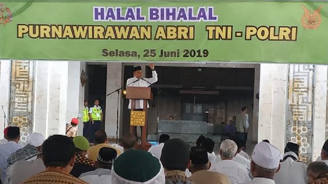 "Ditanya Gatot Kenapa Kecewa, Jamaah Halal Bihalal Purnawirawan TNI Jawab ""Dicurangi"""